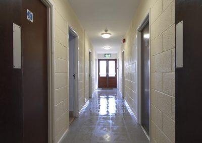Sports corridor